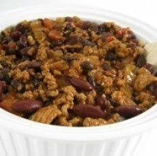 Skinny Turkey Chili Recipe