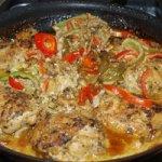 Chicken Braised in Coconut Milk Recipe