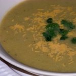 Light Cheddar Cheese and Broccoli Soup Recipe