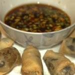 SHIITAKE & ENOKI ASIAN MUSHROOMS SPRING ROLLS Recipe