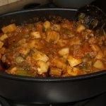 Georgian Beef and Potato Stew Recipe