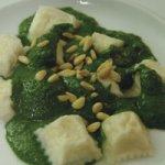 NETTLE PESTO WITH RAVIOLI Recipe