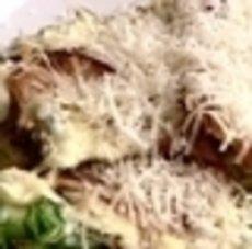 BBQ Ceaser Salad with salad cream Recipe