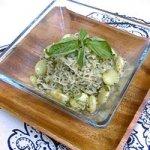 Fordhook Limas & Kelp Noodle Pesto with Lemon Recipe