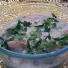 Indian Raita with Persian flavor Recipe