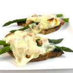 Springtime Ham, Asparagus and Cheese Melt For Easter Recipe