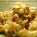 Lentils with Macaroni! Yes! Recipe
