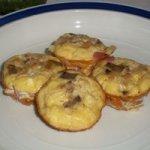 Crustless Miniature Quiche Recipe