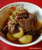 duck & potato curry Recipe