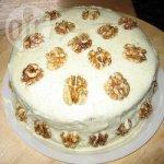 Deliciously moist vegan carrot cake
