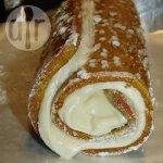 Spiced Pumpkin and Cream Cheese Roll