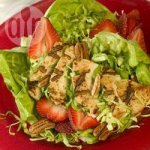 Barbecued Chicken Salad with Seasonal Fruit