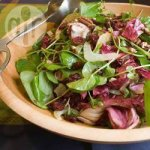Fennel, Watercress and Cranberry Salad