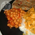 Pakistani Chickpeas with Tomato and Cumin