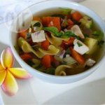 Chicken Vegetable and Pasta Soup