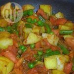Quick Vegetable Masala