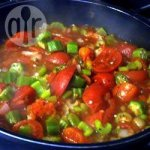 Okra with Bacon and Tomato