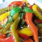 Marinated Roast Peppers