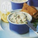 Lemon mackerel pâté