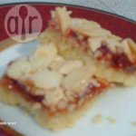 Jammy Almond Biscuit Bars