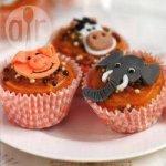 Animal Magic Fudge Cupcakes