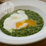 Nettle Risotto with a Poached Egg