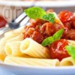 Meg's Valentine's Day tomato and basil pasta