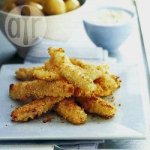 Sole goujons with tartare dip