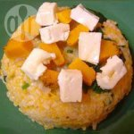 Roast Pumpkin and Feta Risotto