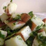 Vegan Potato Rocket Salad