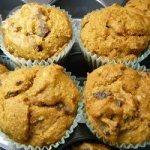 Wholemeal Honey Pumpkin Muffins