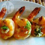 Garlic Prawns on the BBQ