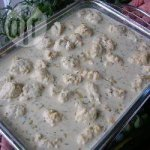 Pike quenelles in dill sauce