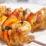 Honey-Soy Chicken Kebabs