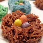Chocolate Coconut Easter Nests