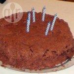 Chocolate and Cherry Layer Cake