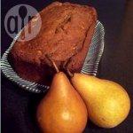 Moist Pear Bread