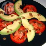 Simple Tomato and Avocado Summer Salad