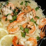 Lemon and Coriander Prawns