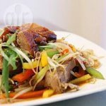 Duck and Pepper Stir Fry