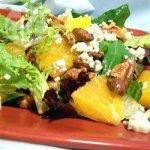Gorgonzola, Walnut and Orange Salad