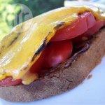 Pesto and Mozzarella Grilled Sandwich