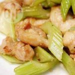 Japanese Chicken and Celery Stir Fry
