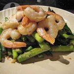 Stir Fried Prawns and Asparagus