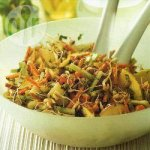 Oriental sprouted salad