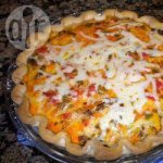 Sausage and Salsa Quiche