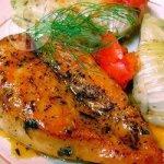 Chicken with Orange-Maple Glaze