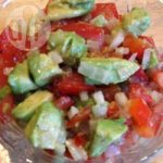 Avocado, Tomato and Pepper Salad