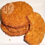 Anzac biscuits with ginger