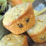 Blueberry Polenta Muffins